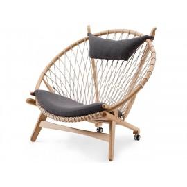 Réplica del sillón Circle PP130 de alta gama de Hans J. Wegner