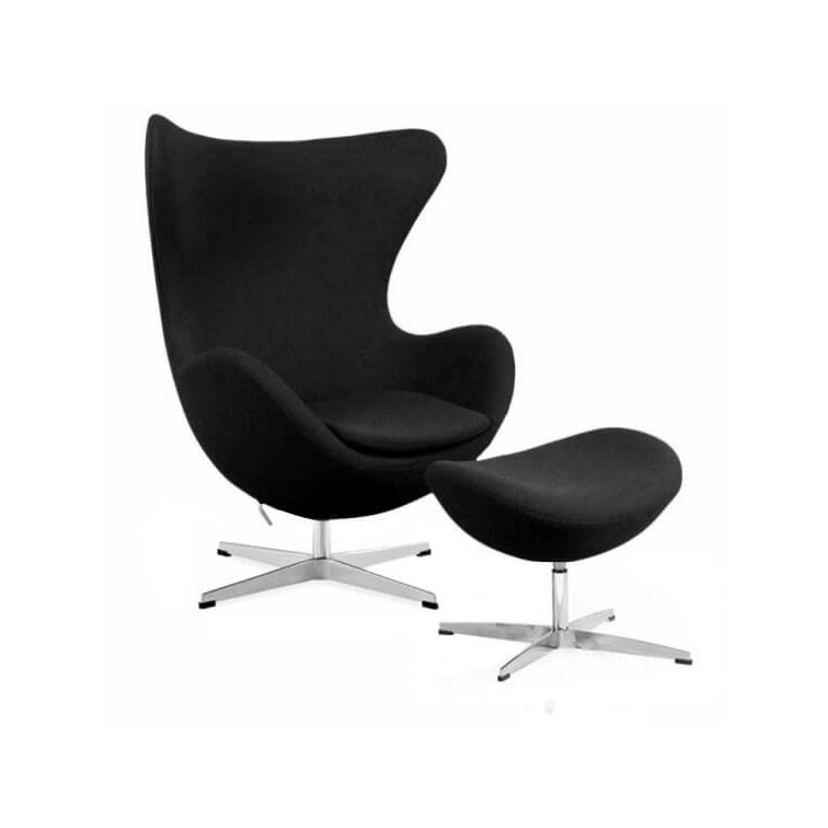 Egg Chair With Ottoman Modern Classics Furnmod