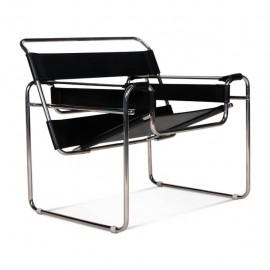 Réplica de la silla de diseño Wassilly Chair en piel