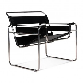 Wassilly Design Chair in Italian Leather