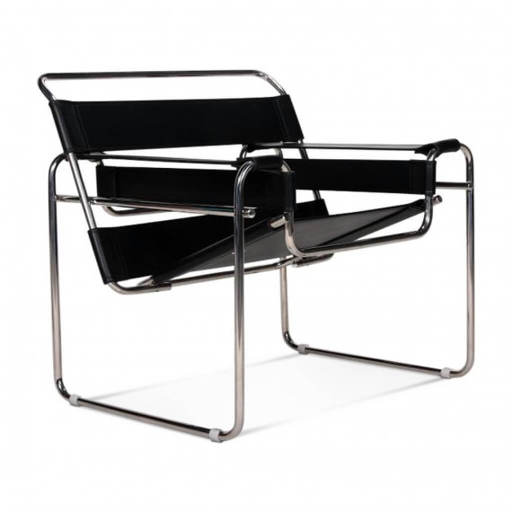 Replica of the Wassilly Chair design chair in leather