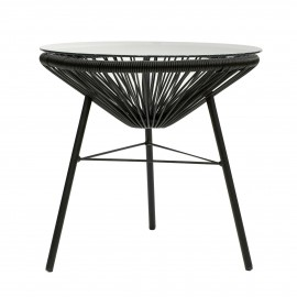 Acapulco design table in rattan perfect for outdoor