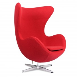 Replica Egg Chair in Cashmere from designer Arne Jacobsen