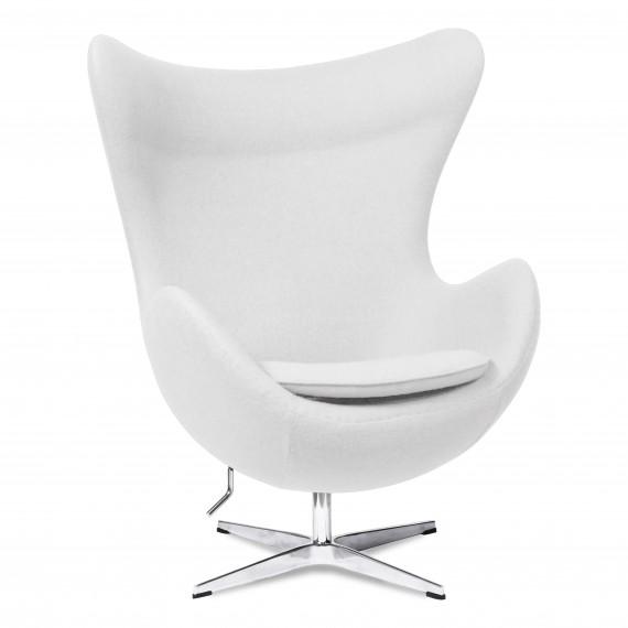 Réplica Silla Egg Chair en Cachemir del diseñador Arne Jacobsen