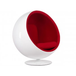 Replica Ball Chair in Cashmere by Eero Aarnio