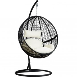 Magic Garden Hanging Chair for garden in rattan