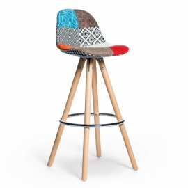 Poland Patchwork Stool