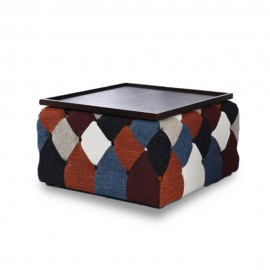 Chesterfield Patchwork Nordic Style Coffee Table