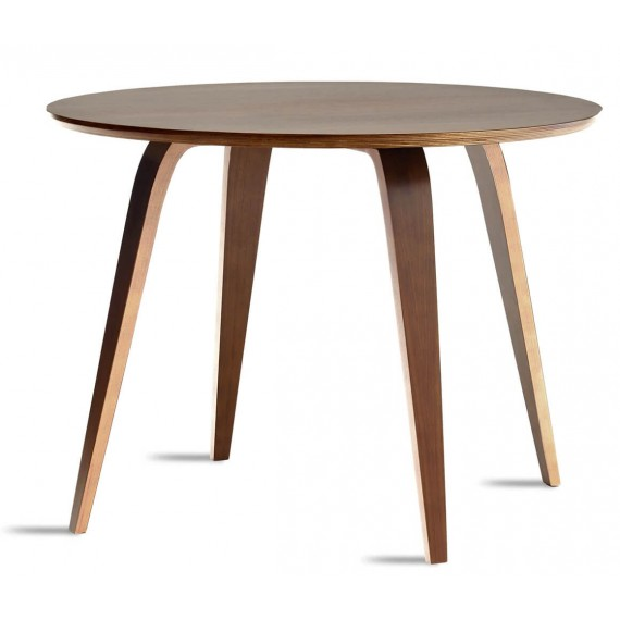 Norman Cherner round dining table replica.