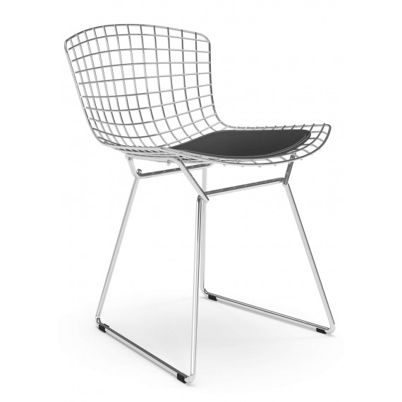 "Replica Bertoia chair ""High Quality"" in Chrome Steel of the famous designer Hans J. Wegner"
