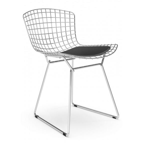 """Réplica Silla Bertoia """"High Quality"""" en Acero Cromado del famoso diseñador Hans J. Wegner"""