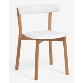 Oslo Scandinavian Chair in Beech Wood