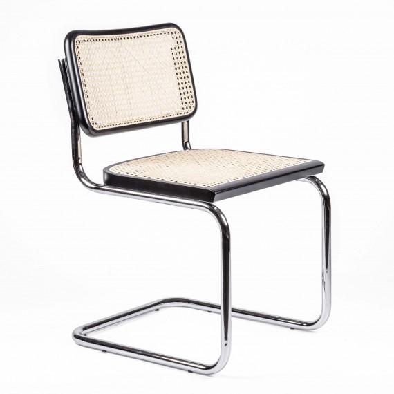 Replica of the Cesca Chair by designer Marcel Breuer