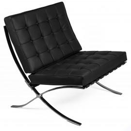 Cadeira Barcelona em Couro