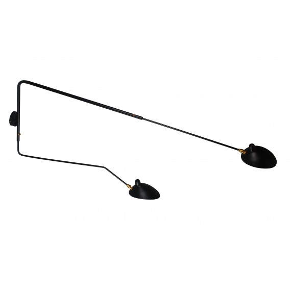 Inspiración de la lámpara de aplique Mouille de 2 Arms