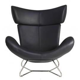 Imola Design Armchair Replica in Italian Leather