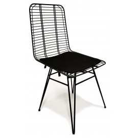 Yosemite steel chair suitable for outdoor