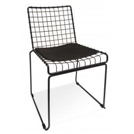 Cadeira de metal Phuket adequada para exterior
