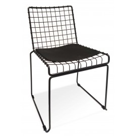 Phuket steel chair suitable for outdoor