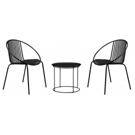 PACK BALI CHAIR AND BALI TABLE SUITABLE FOR OUTDOORS