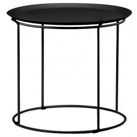 Bali table in steel suitable for outdoors