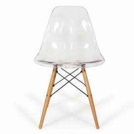 furmod Silla Eames DSW Inspirada Transparente