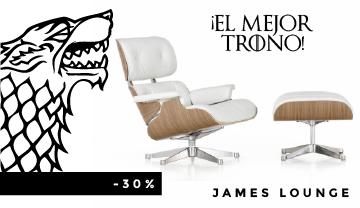 El sillón más codiciado en el que todos querrán sentarse: James Lounge Chair