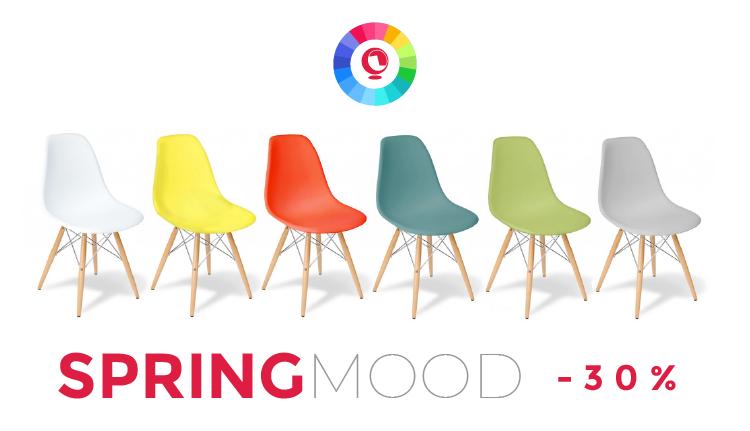 ¡Alegría! Muebles de diseño a todo color, con precios Hot Sale