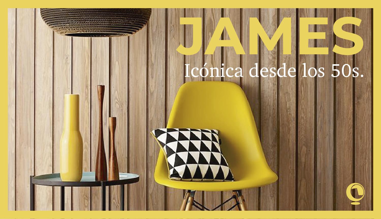 Colección James, icónica desde los 50s.