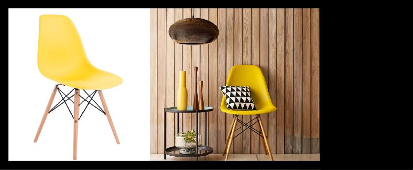 Chaise design DSW de Eames