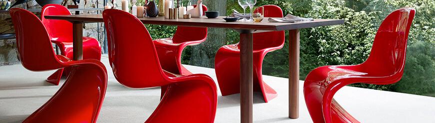 Réplicas de sillas de jardín de diseño