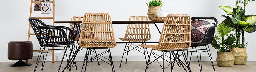 Quality rattan designer chairs