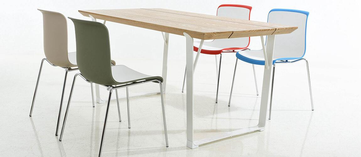 Tavolo da pranzo in stile industriale Sophie - Mobiliedesign