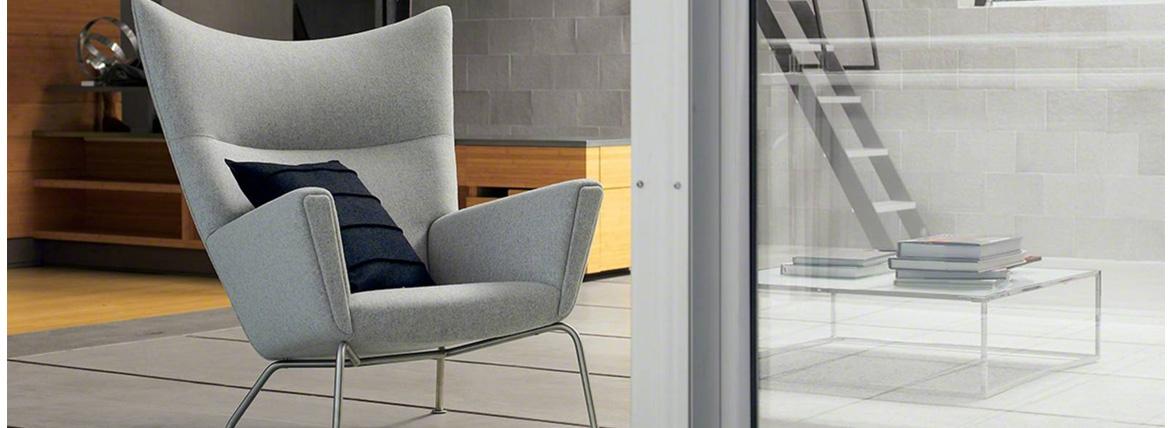 Réplica del sillón Wing del diseñador Hans J. Wegner