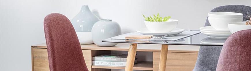 Tavoli Rettangolaredi design per sala da pranzo