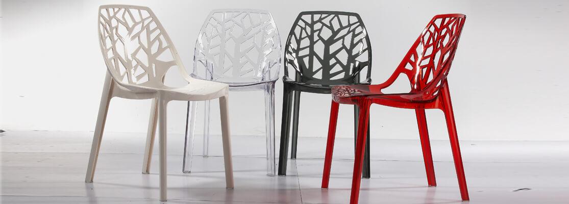 Inspiración de la silla Vegetal de los famosos diseñadores Ronan & Erwan Bouroullec