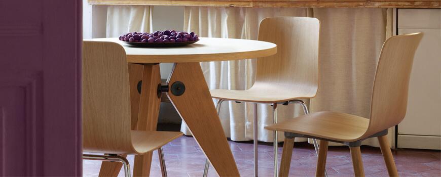 Mesas de comedor redonda de Madera