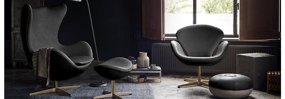 Sillón Swan Chair del diseñador Arne Jacobsen