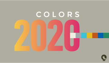 Colour trends in decoration for 2020