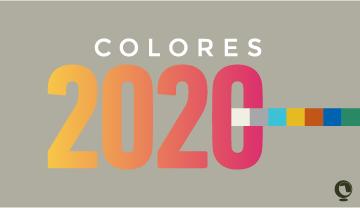 Tendencias cromáticas en decoración para el 2020
