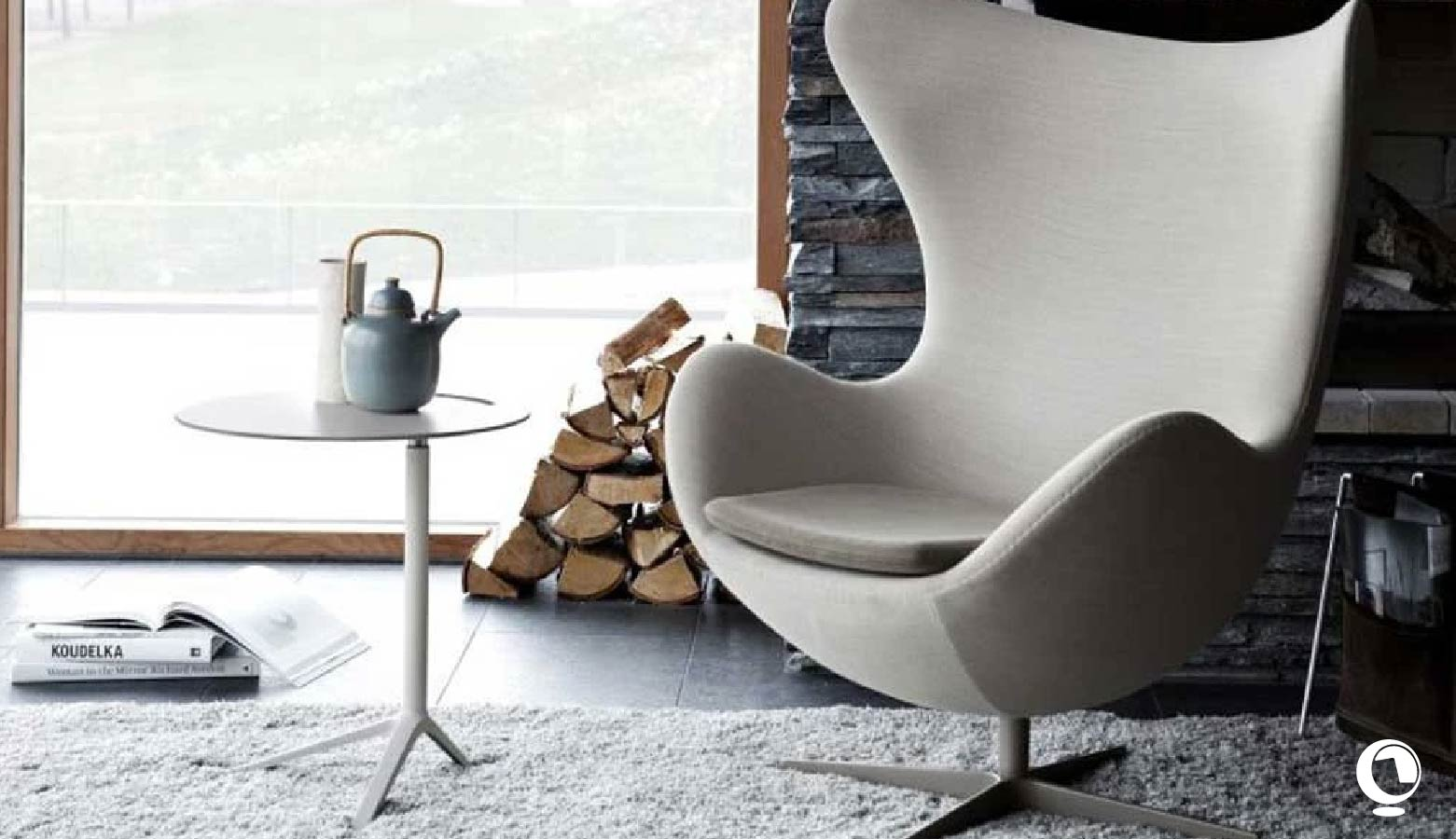 Egg Chair, the Arne Jacobsen Egg Chair
