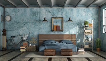 Keys to decorating with industrial furniture