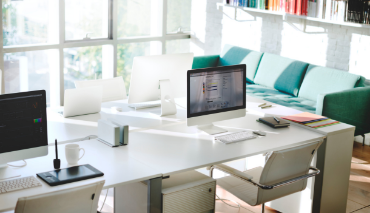 Cómo decorar despachos de diseño